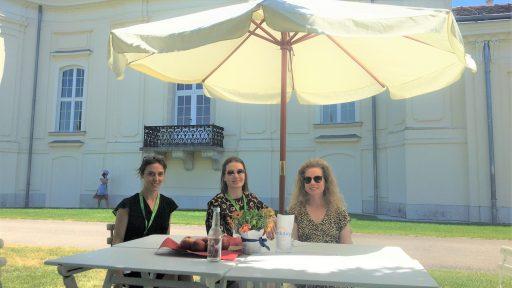 Sonja Jovanovic, Kirsti Zrunek, Nikola Kroulíková © vieconsult